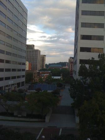 Crowne Plaza Knoxville: The view from the room