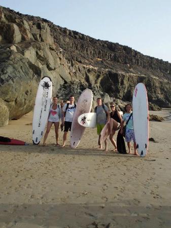 Hotzone Surf: Groeps pic