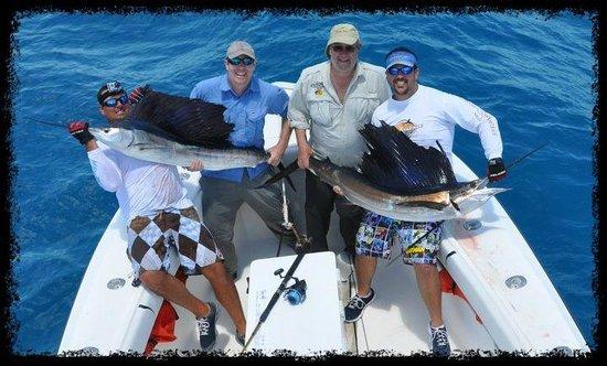 Catchalottafish Charters: Sailfishing at it's Finest!