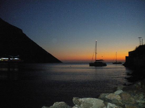 O Argiris: Sunset from the restaurant