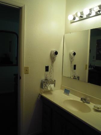 Yosemite Riverside Inn : Stanza da bagno