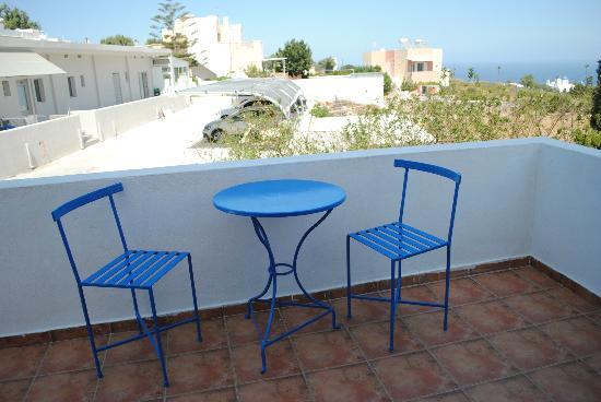Summer Time Pension: dal terrazzo