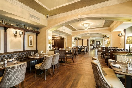The Harbourview Grille : Dining Room