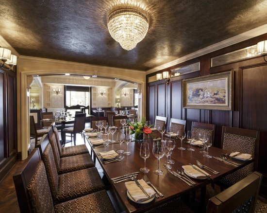 The Harbourview Grille: Private Dining Area