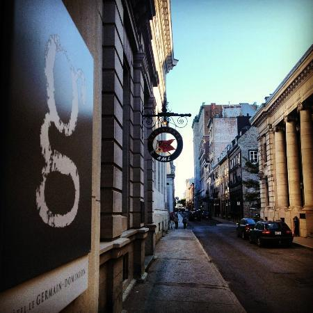 Hotel Le Germain Quebec: La rue St-Pierre