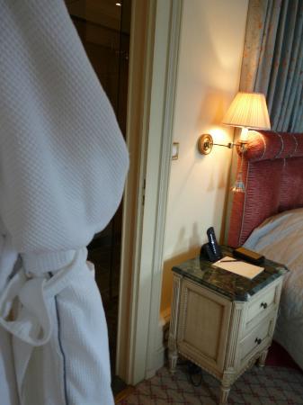 Beau-Rivage Genève : vue chambre