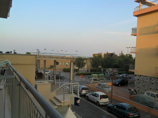 Maison Bellevue: vista dal balcone