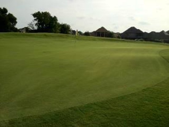 Burleson, TX : Great Hole 17, Picture Taken June 21, 2012