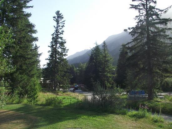 Camping Des Glaciers: The campsite.