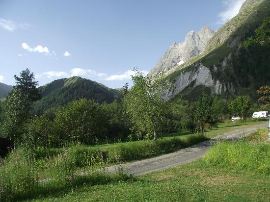 Camping Des Glaciers: The views