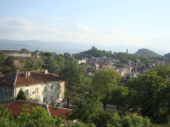 Plovdiv Roman Theatre: Amazing view over Plovdiv