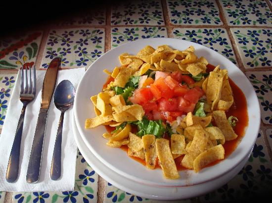 Orlando's New Mexican Cafe: Frito Pie with Red Chile