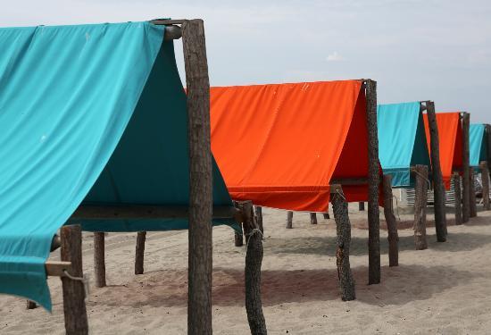 Beach Shack: Cabanas on the ocean beach