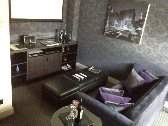 Lounge Area In The Cinema Suite Separate Room To Bedroom Picture