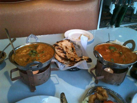India Kabab & Curry: Shahi Murg Korma & Seafood Tikka Masala