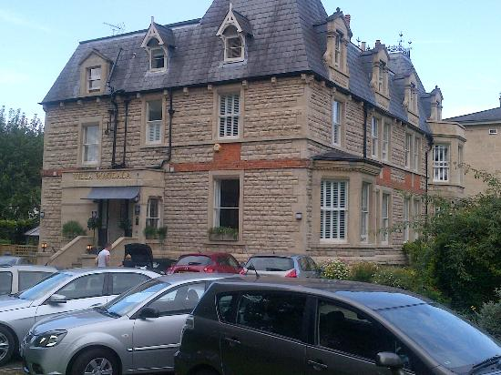 Villa at Henrietta Park: Villa Magdala, Bath, UK. from carpark