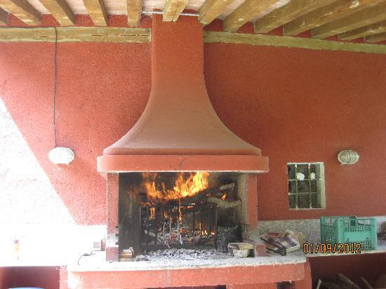 Residenza Torre Del Colle: Il barbecue