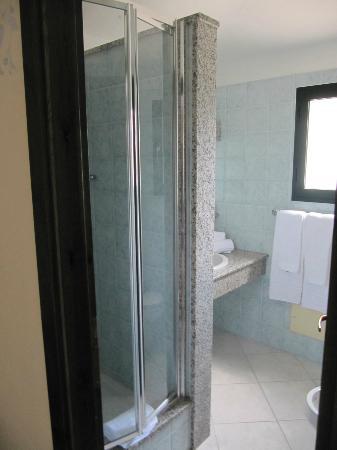Park Hotel Porto Istana: doccia bagno cabino doccia nuova