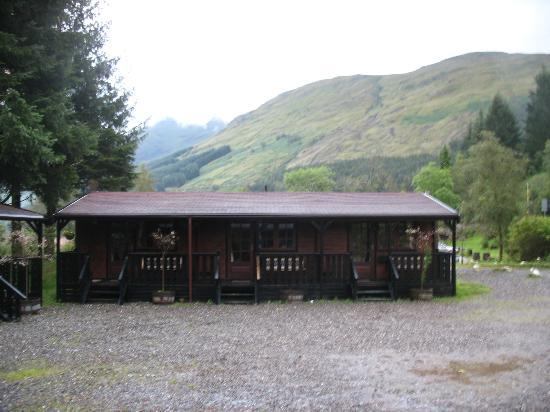 Ben More Lodge Hotel: Chalet bedrooms