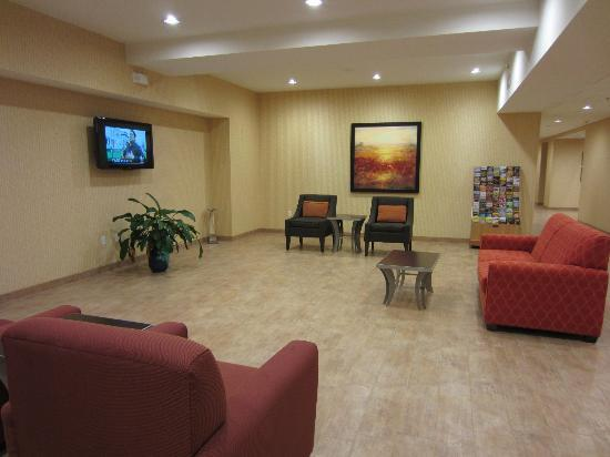 Hampton Inn & Suites Harrisburg North: Area next to main lobby