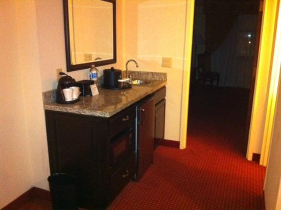 Embassy Suites by Hilton Hotel & Montgomery Conference Center : Sink