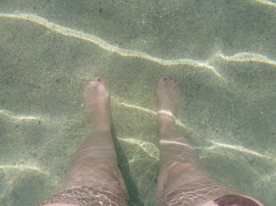 Agios Pavlos Beach (Saint Paul): acqua cristallina