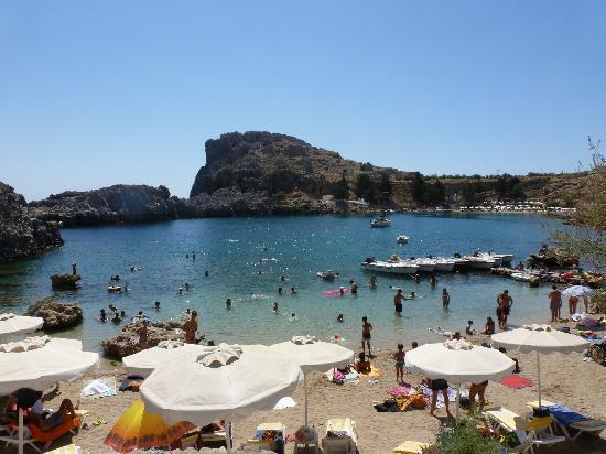 Agios Pavlos Beach (Saint Paul): baia di s. paul