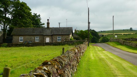 Alnham Farm: towards the gatehouse