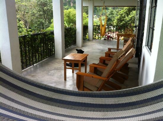 Vulcano Lodge: Private terrace
