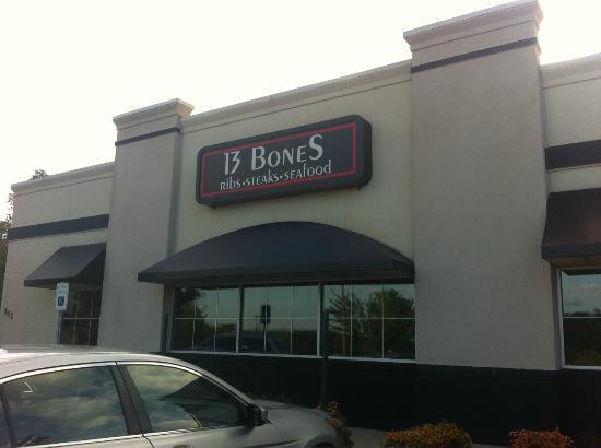 13 Bones : Outside Sign
