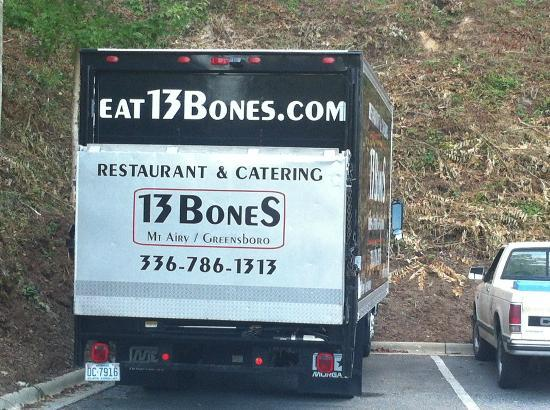 13 Bones: Obviously, they cater also