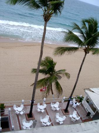 Atlantic Beach Hotel: view from room