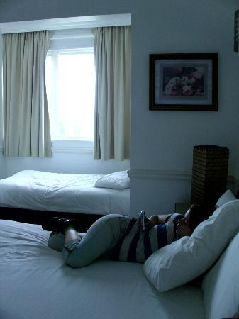 Atlantic Beach Hotel: Quiet room with a view