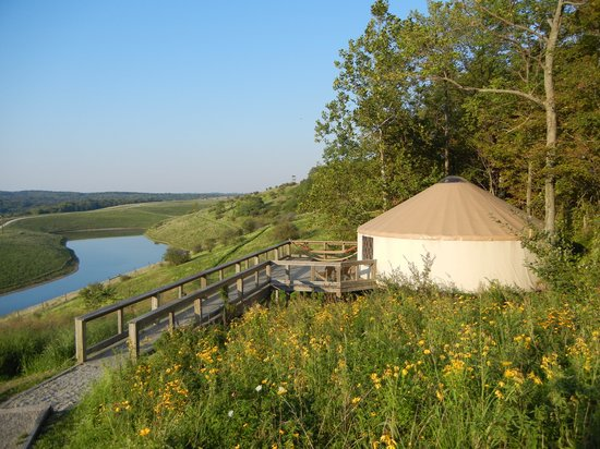 The Lodge at the Wilds: The Grand Yurt on Nomad Ridge at The Wilds