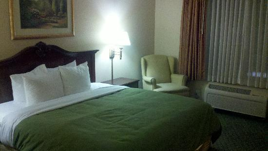 Country Inn & Suites By Carlson, Indianapolis Airport South: Comfy Bed