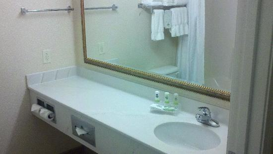 Country Inn & Suites By Carlson, Indianapolis Airport South, IN: Bathroom