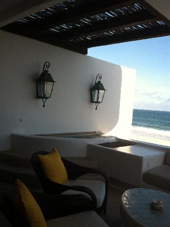 Las Ventanas al Paraiso, A Rosewood Resort: lower level deck