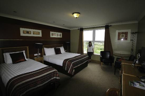 Ballyliffin Lodge & Spa Hotel: The extra large superior room