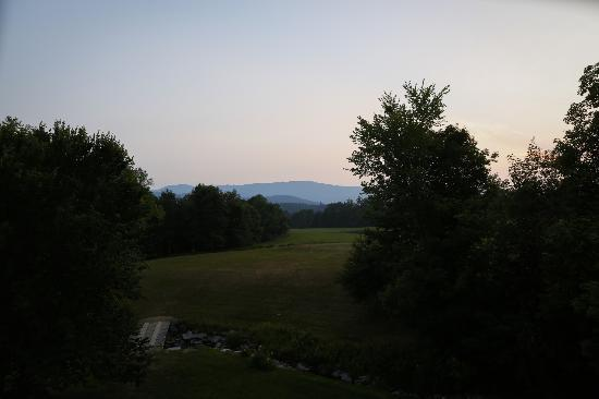 Waitsfield, VT: The amazing view from the barn