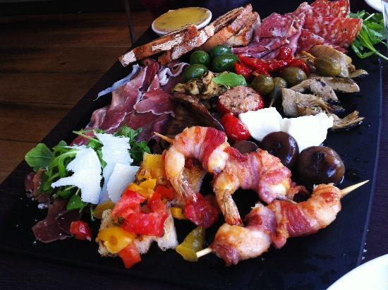 Carluccio's - Chester: Our Antipasto Supremo to share! Yum!!!