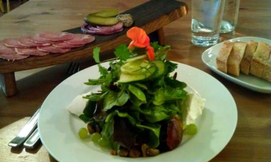 Brasserie Four: Vert salade, charcutrie, bread, perfect lunch..