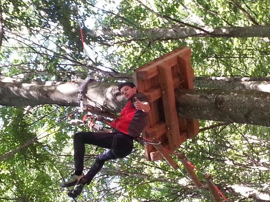 Rampy Park - Parco Acrobatico Forestale : il rosso ;)