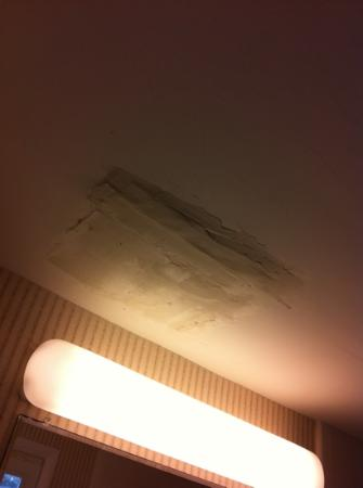 Hyannis Harbor Hotel: patched ceiling
