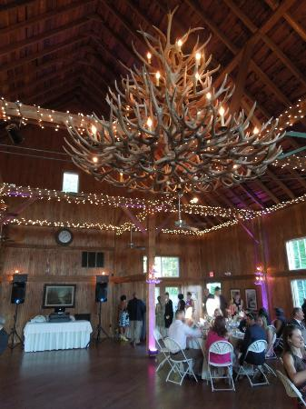 Inn on Newfound Lake: The Reception in the Inn's Newly Renovated Barn