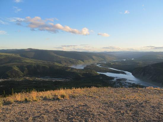 Tombstone Territorial Park: From Dome Mountain, overlooking Dawson City