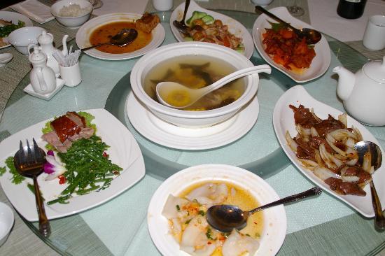 Chateau de Chine Hotel Hualien: レストラン内部