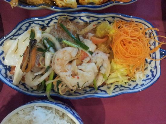 Masuda Thai: Yum Woon Sen - seafood glass noodle salad