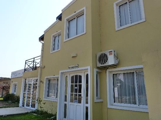 Villa Termal: Frente de la Hostería