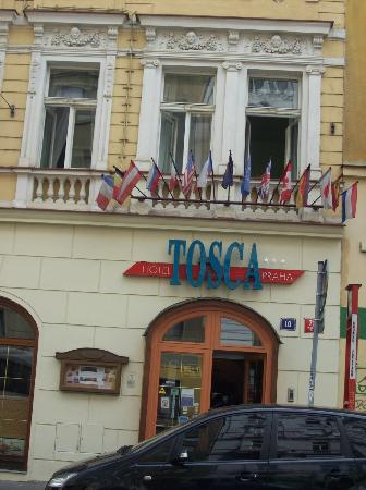 EA Hotel Tosca: la entrada