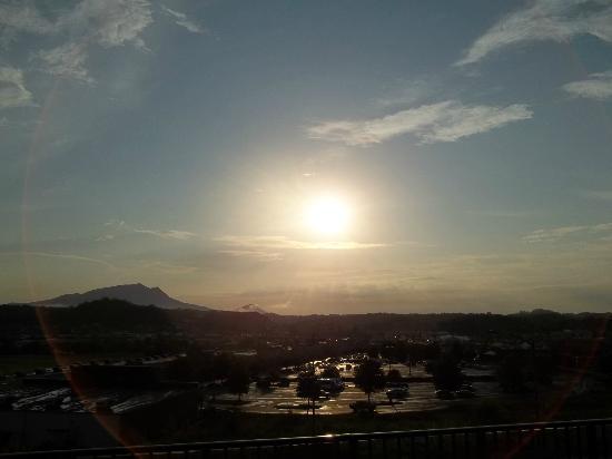 Wyndham Smoky Mountains: Smoky Mountain Sunset!
